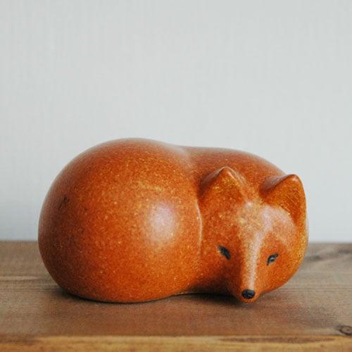 Lisa Larson(リサ・ラーソン)fox,キツネ,LILLSKANSEN/スカンセン動物園