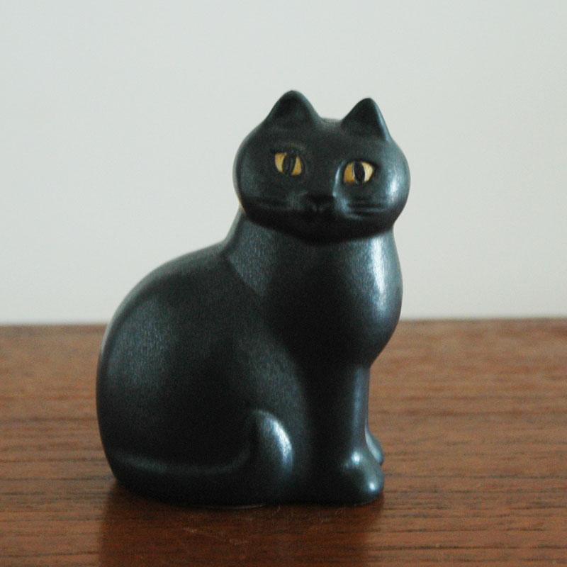 CAT MANS(キャットマンス)ブラック,Lisa Larsonリサ・ラーソン,オブジェ,置物