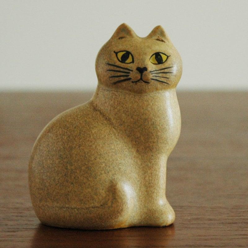 CAT MANS(キャットマンス)ブラウン,Lisa Larsonリサ・ラーソン,オブジェ,置物