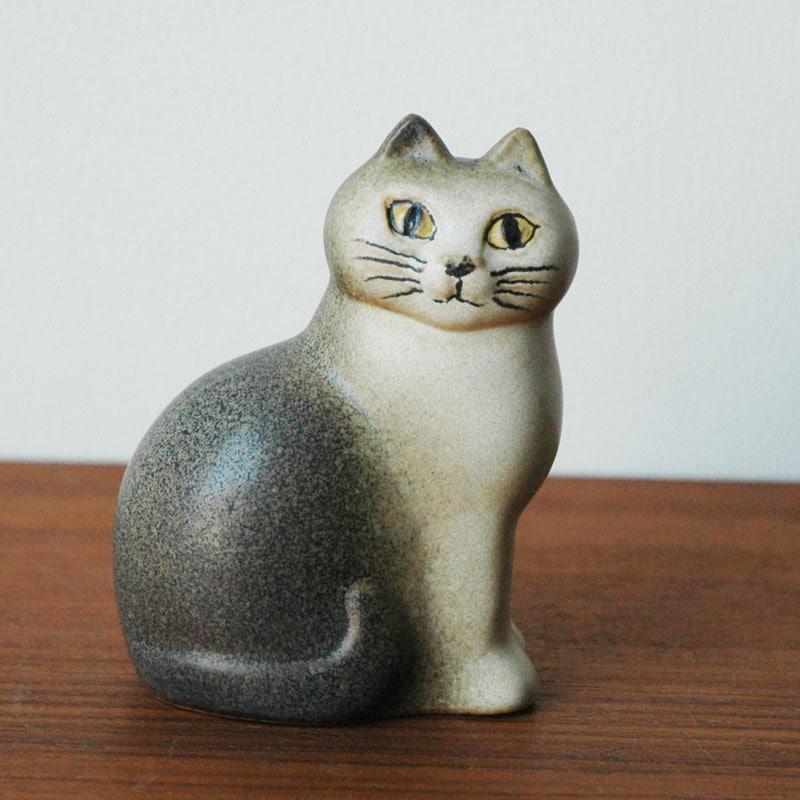 CAT MANS(キャットマンス)グレー,Lisa Larsonリサ・ラーソン,オブジェ,置物