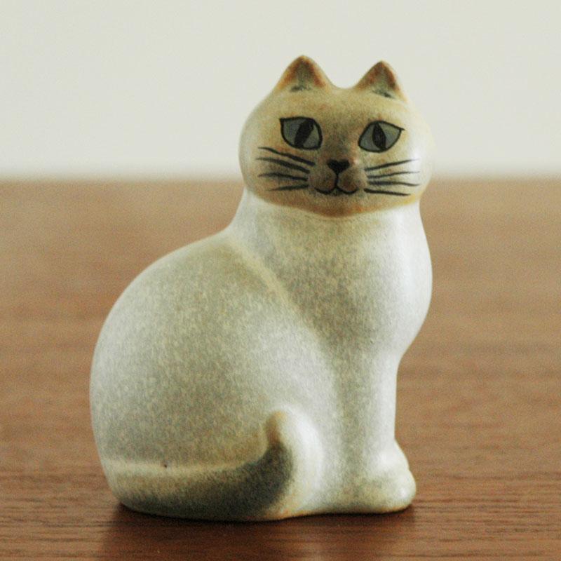 CAT MANS(キャットマンス)ホワイト,Lisa Larsonリサ・ラーソン,オブジェ,置物