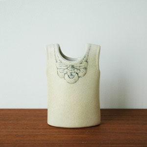 Wardobe Vases Vest,ワードローブ,ベスト,フラワーベース,Lisa Larson,リサラーソン