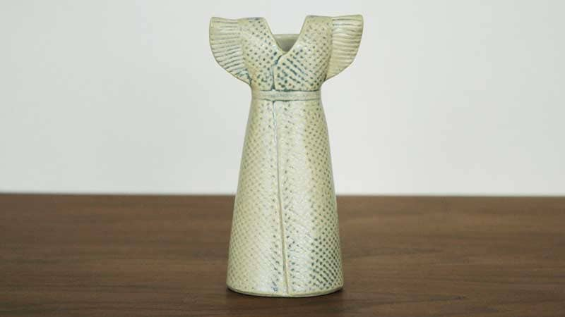 Wardobe Vases Dress,ワードローブ,ドレス,フラワーベース,Lisa Larson,リサラーソン,北欧,花瓶,フラワーベース,オブジェ,置物,北欧雑貨,北欧インテリア