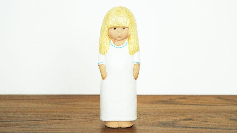 Lisa Larson,リサ・ラーソン,Lina(リナ)blondhairブロンドヘアの正面