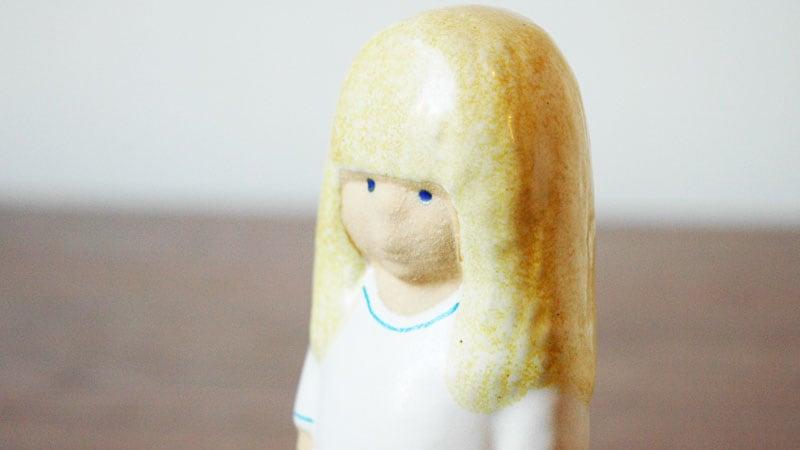 Lisa Larson,リサ・ラーソン,Lina(リナ)blondhairブロンドヘアのアップ