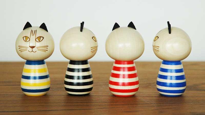 こけしミンミ,卯三郎,Japan Seriesジャパンシリーズ・群馬県,Lisa Larson(リサ・ラーソン)