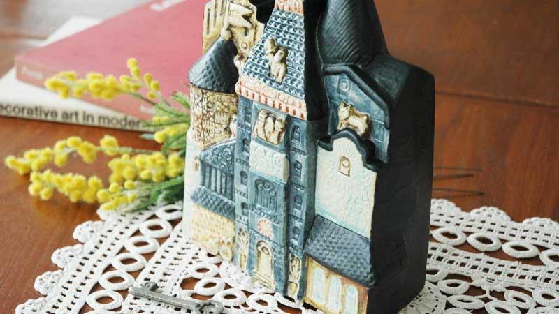 スウェーデンの朝の家,BPAの家,Lisa Larson,リサラーソン,北欧,オブジェ,置物,北欧雑貨,北欧インテリア