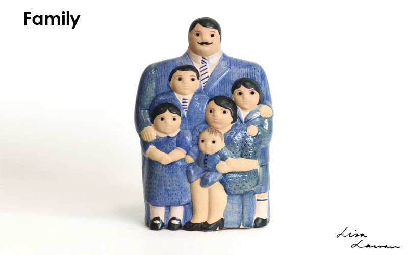 family,ファミリー,Lisa Larson,リサラーソン,北欧,オブジェ,置物,北欧雑貨,北欧インテリア