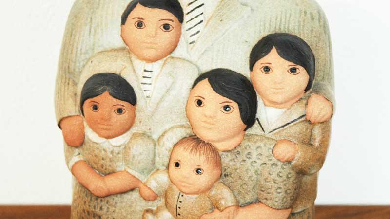 family,ファミリー),Lisa Larson,リサラーソン,北欧,オブジェ,置物,北欧雑貨,北欧インテリア