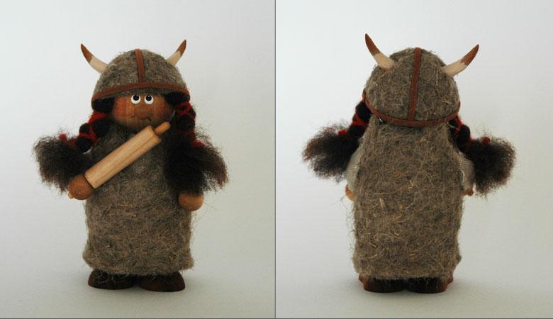 エストニアのハンドクラフトのヴァイキングのオブジェ,置物,北欧エストニア,北欧雑貨,北欧インテリア,北欧ギフト