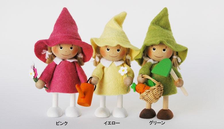 女の子,エストニア,ハンドメイド,木製オブジェ,nordicgifts,北欧雑貨,北欧インテリア,北欧ギフト