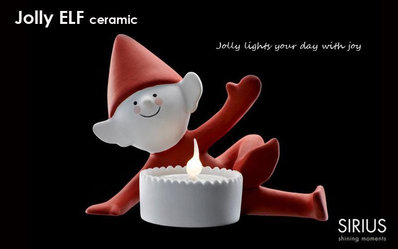 クリスマス・エルフ,jolly elf、ジョリー・エルフ,Sirius(シリウス),デンマーク,クリスマスキャンドルライト,led,green energy