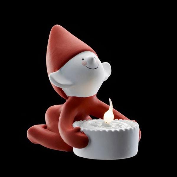 クリスマス・エルフ,lucky elf(ラッキー・エルフ),Sirius(シリウス),デンマーク,クリスマスキャンドルライト,led,green energy