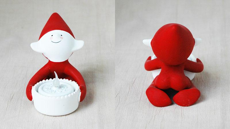 クリスマス・エルフ,lucky elf,ラッキー・エルフ,Sirius(シリウス),デンマーク,クリスマスキャンドルライト,led,green energy