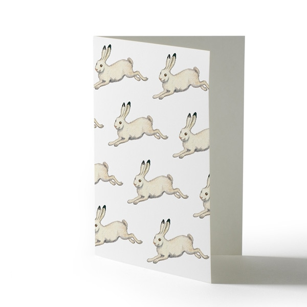 winter hare,Elsa Baskow(エルサ・べスコフ)カード
