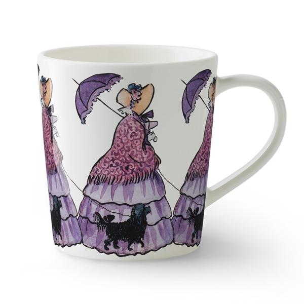aunt lavender,むらさきおばさん,Elsa Baskow(エルサ・べスコフ)マグカップ