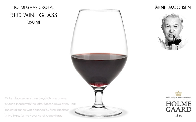 Royal white Wine Glass,ロイヤル赤ワイングラス,HOLMEGAARD,ホルムガード,Arne Jacobsen(アルネヤコブセン),北欧雑貨,北欧インテリア北欧ギフト