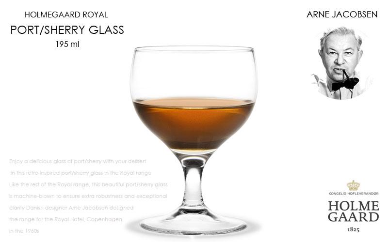 Royal Port/Sherry Glass(ロイヤル・ポート・シェリーグラス),HOLMEGAARD,ホルムガード,Arne Jacobsen(アルネヤコブセン),北欧雑貨,北欧インテリア北欧ギフト