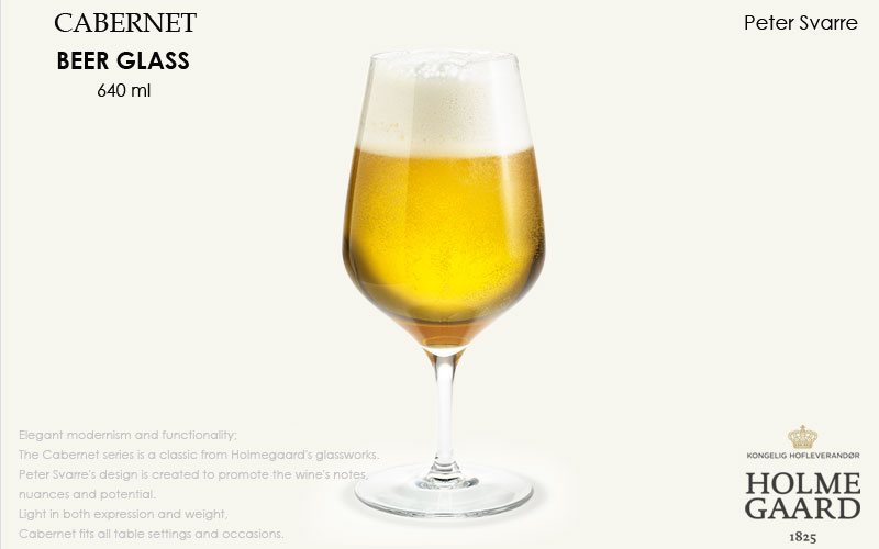 CABERNET(カベルネ)BeerGlass(ビアグラス)640ml,HOLMEGAARD,ホルムガード,北欧雑貨,北欧インテリア北欧ギフト