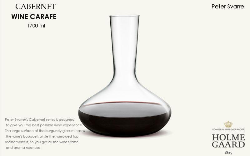 CABERNET(カベルネ)Wine Carafe(ワインカラフェ)デキャンタ1700ml,HOLMEGAARD,ホルムガード,北欧雑貨,北欧インテリア北欧ギフト