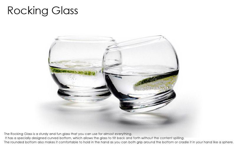 Rocking Glassロッキンググラス・ノーマンコペンハーゲン,デンマーク,北欧食器,北欧インテリア,北欧雑貨