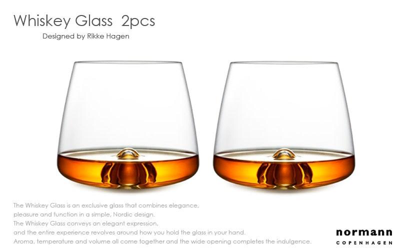 Whiskey Glassウィスキーグラス,normannCOPENHAGEN,ノーマンコペンハーゲン,北欧,デンマーク,北欧雑貨,北欧インテリア,北欧ギフト