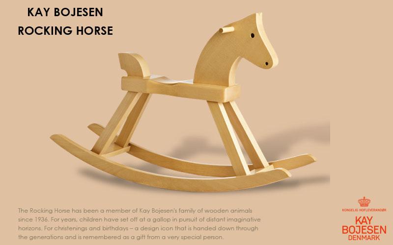 rockin horse,ロッキングホース,木馬, Kay Bojesen,カイ・ボイスン,木製オブジェ ,デンマーク,北欧,北欧雑貨,北欧インテリア,北欧ギフト