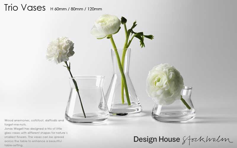 trio vases,トリオベース,フラワーベース,花瓶,DESIGN HOUSE stockholm,デザインハウスストックホルム,北欧スウェーデン