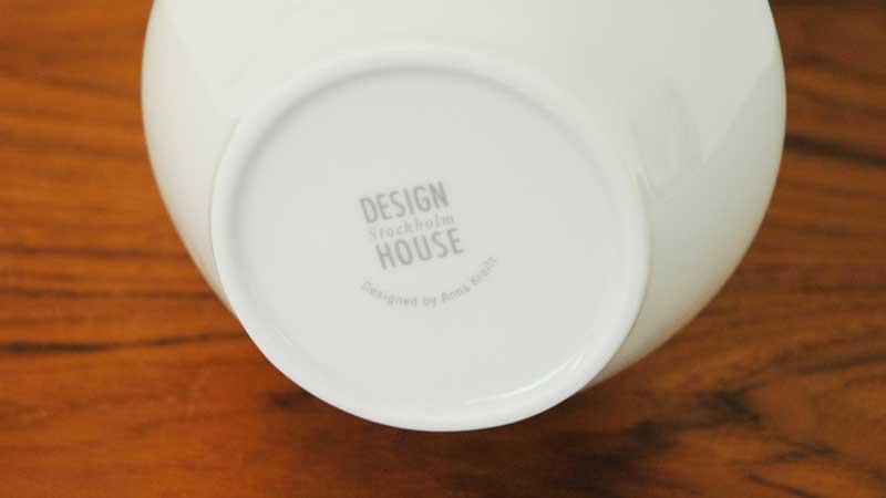 Alba Vase(アルバ・ベース)H=24cm,花瓶 DESIGN HOUSE stockholm(デザインハウスストックホルム)北欧スウェーデン