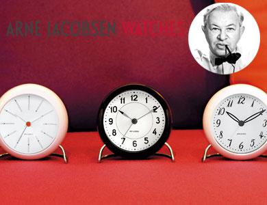 アルネヤコブセン,置き時計,北欧デンマーク