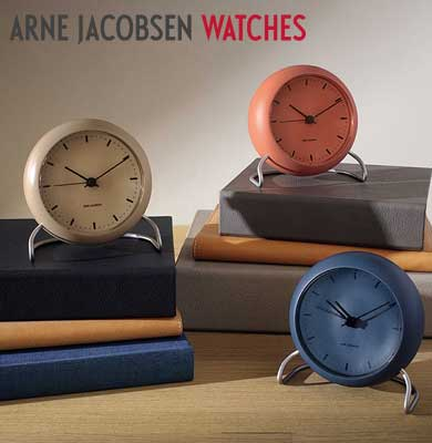 アルネヤコブセン時計,北欧デンマーク