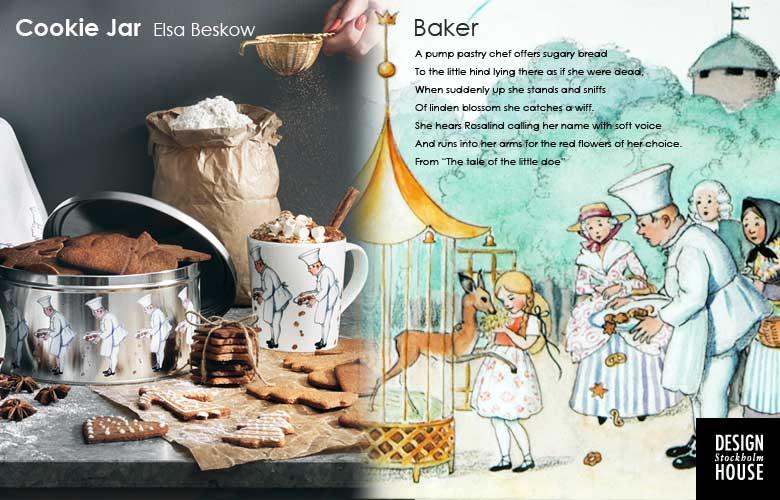 クッキージャー,baker,デザインハウスストックホルム