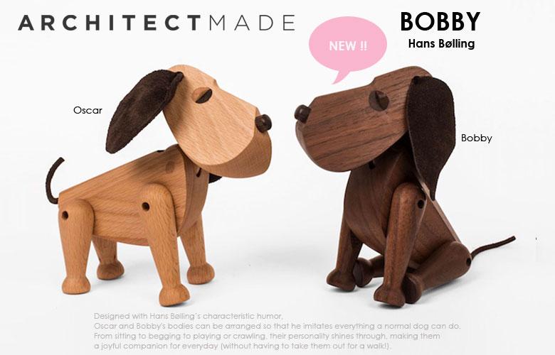 Bobby(ボビー),デンマーク,architectmade,アーキテクトメイド,置物,木製オブジェ