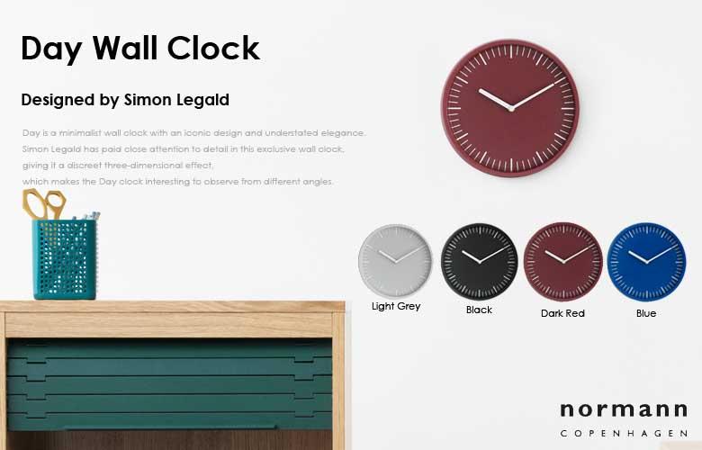 normann copenhagen,day wall clock,壁掛け時計,デイウォールクロッック,北欧デンマーク