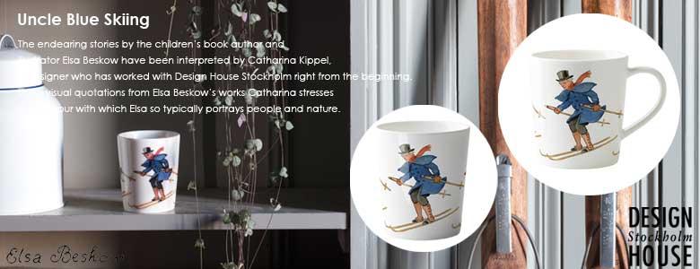 エルサベスコフ・青おじさんマグカップ,カップ,デザインハウスストックホルム