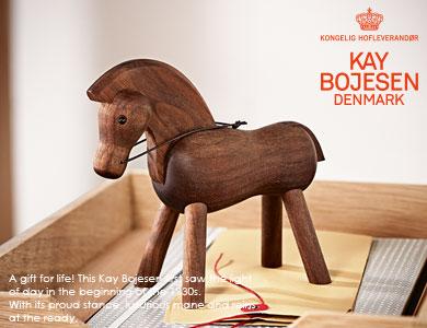 kay bojesen,カイボイスン,馬,horse,置物,木製オブジェ