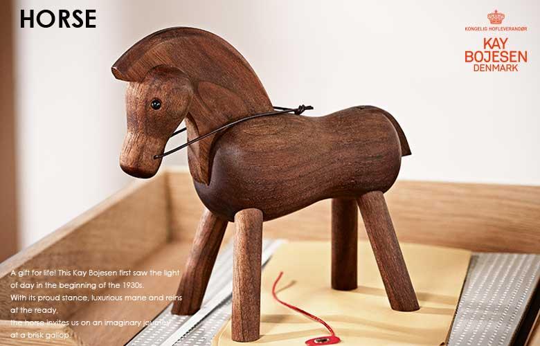 horse,ホース,馬,ウォールナット,デンマーク,カイボイスン,kay bjesen,置物,木製オブジェ