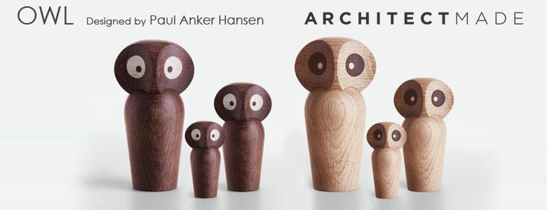 アーキテクトメイド,owl,オウル,フクロウ,ミニサイズ,北欧デンマーク