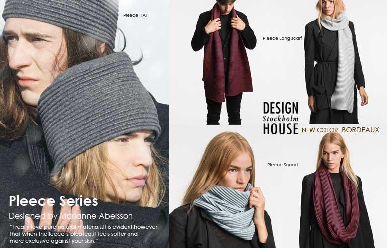 プリースシリーズ,マフラー,スヌード,ハット,北欧スウェーデン,デザインハウスストックホルム