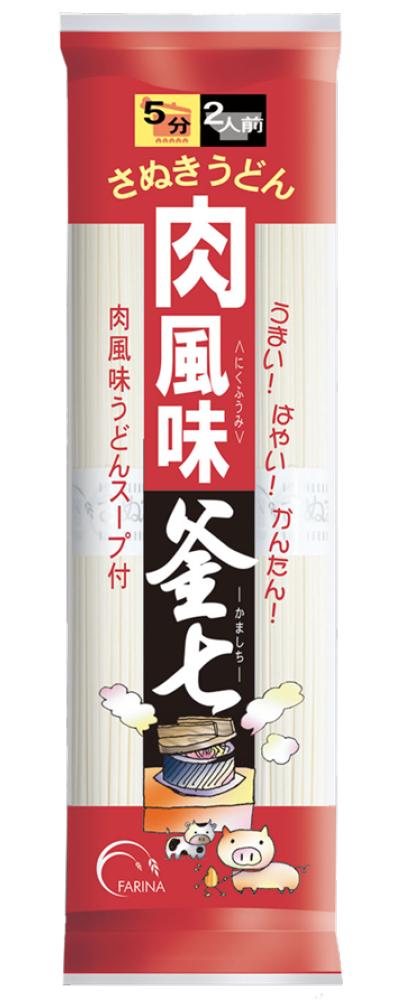 さぬきうどん肉風味釜七(200g+つゆ付)