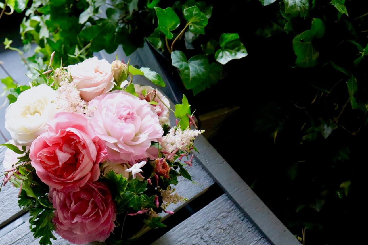 香りのバラアレンジメント
