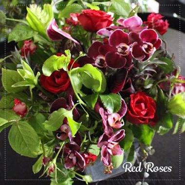 長春花 choshunka 「赤バラ」の華やかなギフトアレンジ 敬老の日、感謝の気持ちを伝えるフラワーギフトはライフデコへ