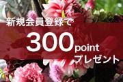 祝!令和!ご好評につきキャンペーン継続!新規会員登録で300ポイントプレゼント