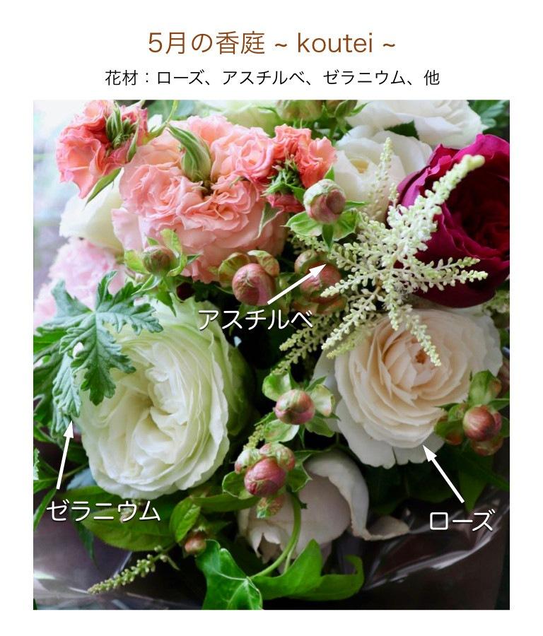 5月の香庭イメージ画像