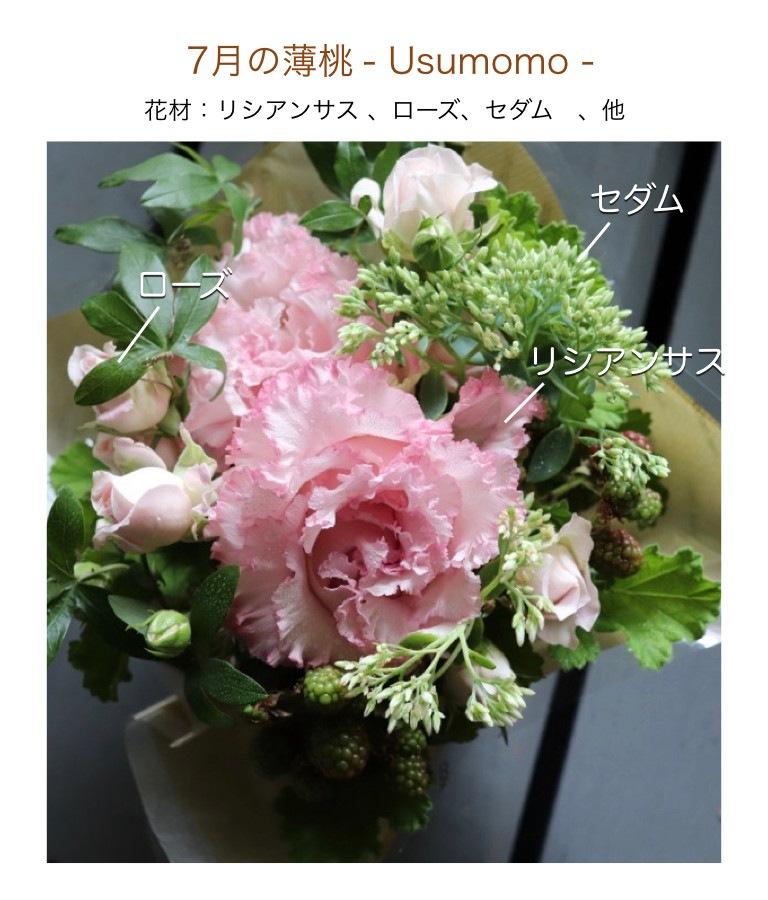 7月の薄桃イメージ画像
