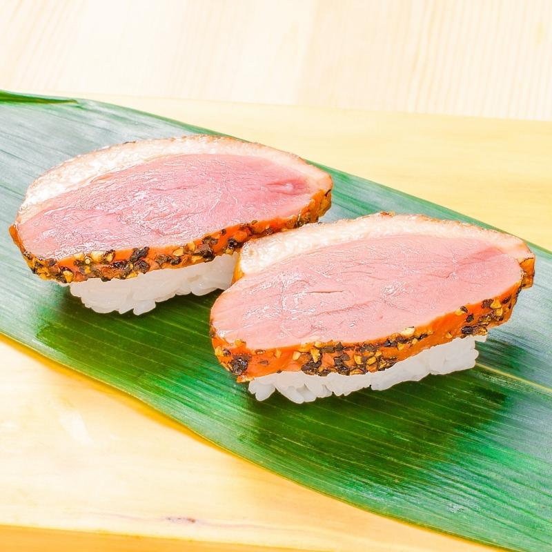 合鴨パストラミ 寿司
