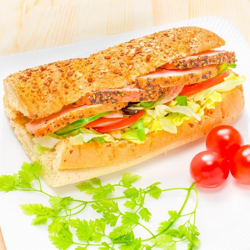 合鴨パストラミ サンドウイッチ