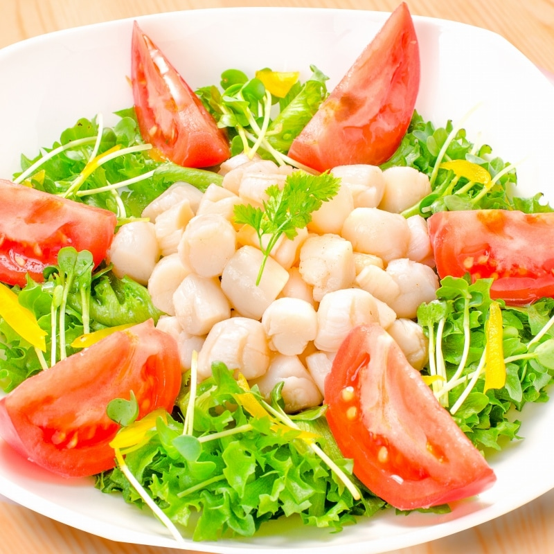 小柱 サラダ