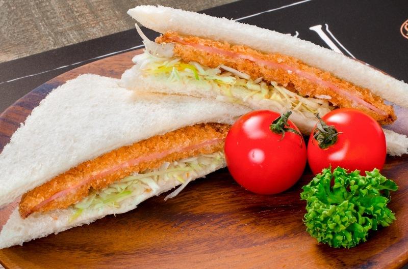 ハムカツ サンドイッチ
