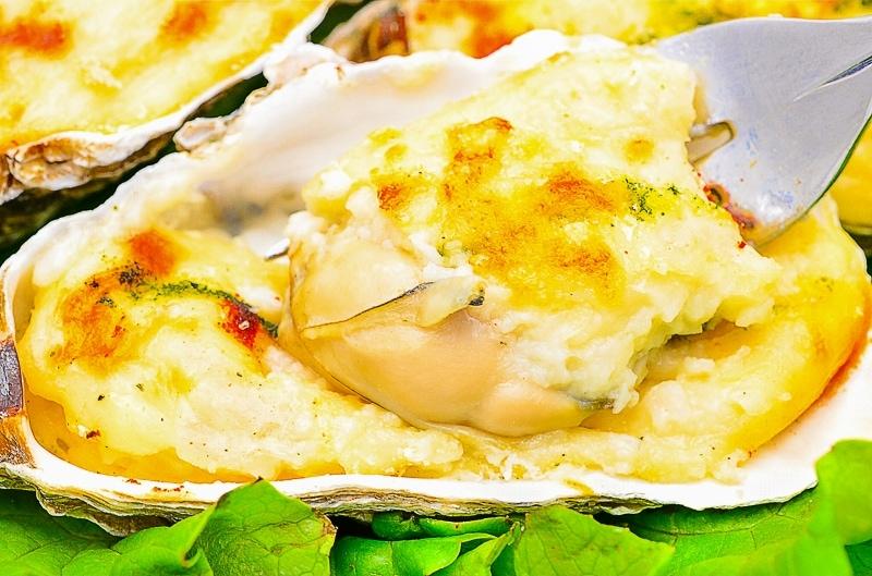牡蠣グラタンアップ2
